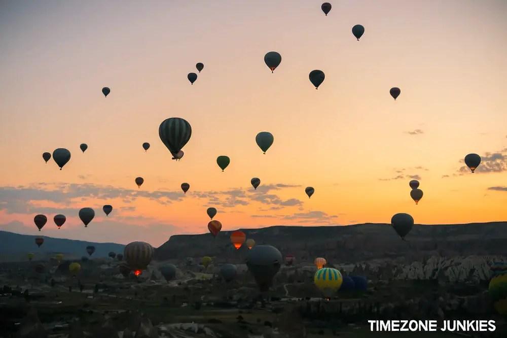 cappadocia hot air balloon cost
