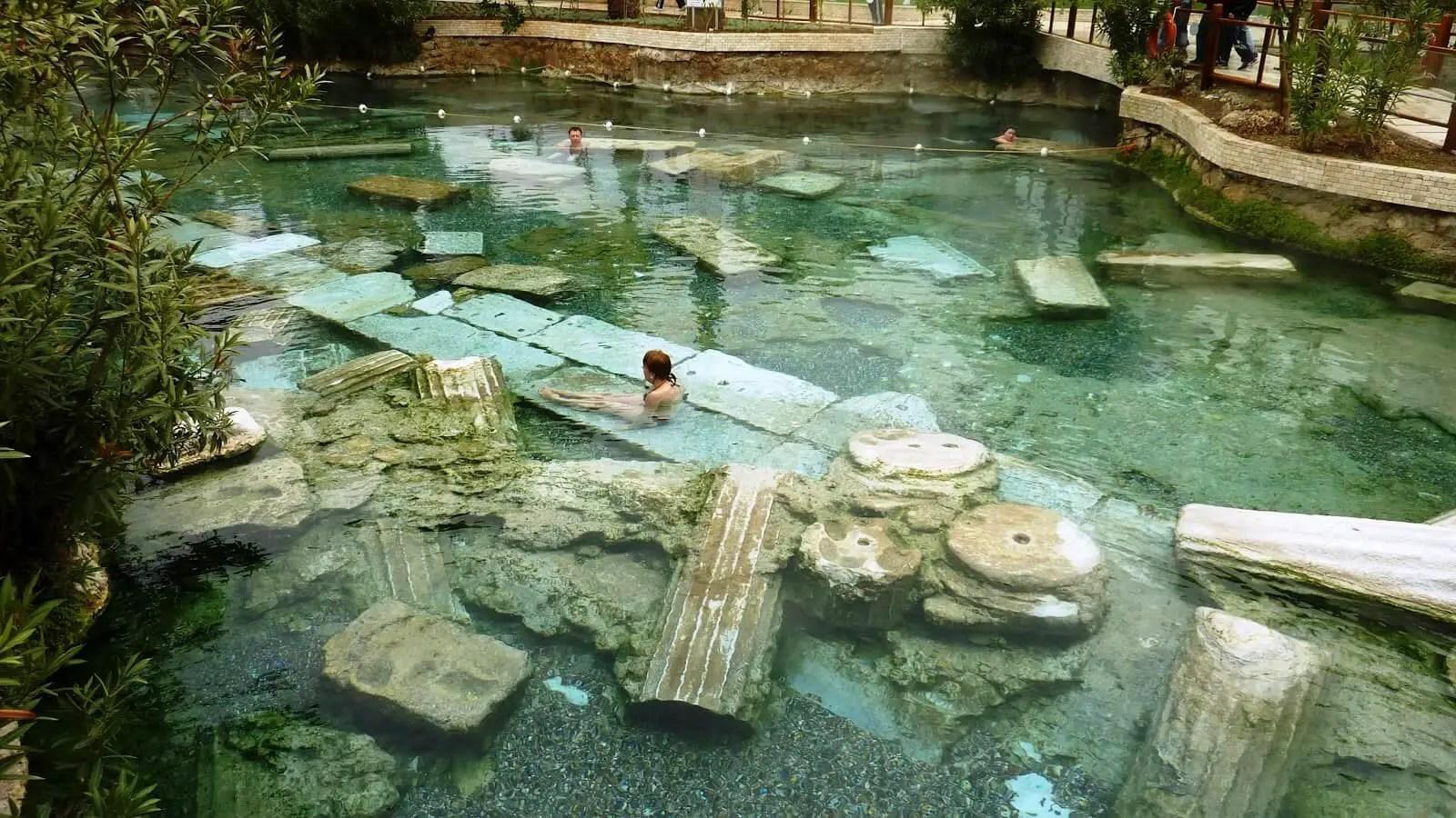 cleopatra's pools