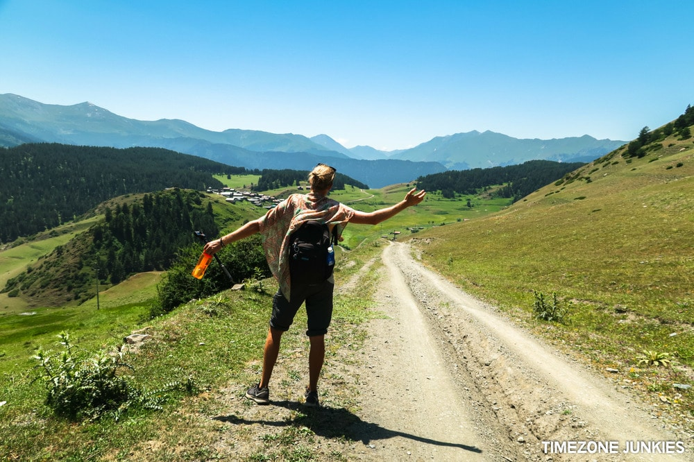 hiking tusheti