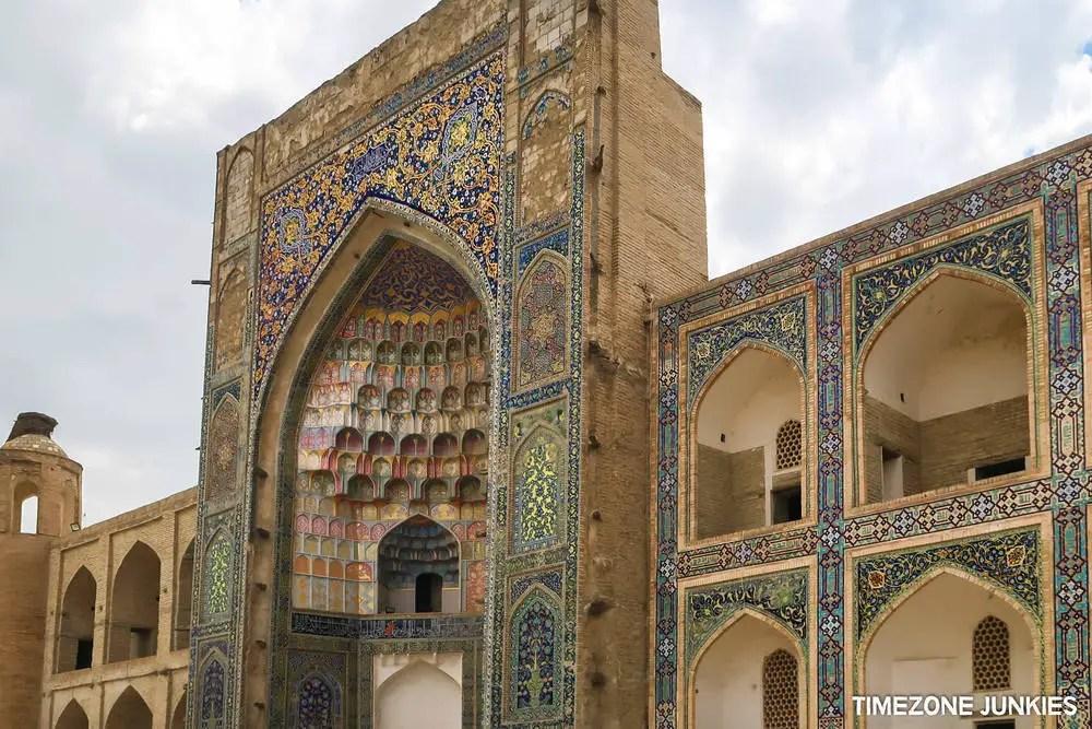 climate in uzbekistan