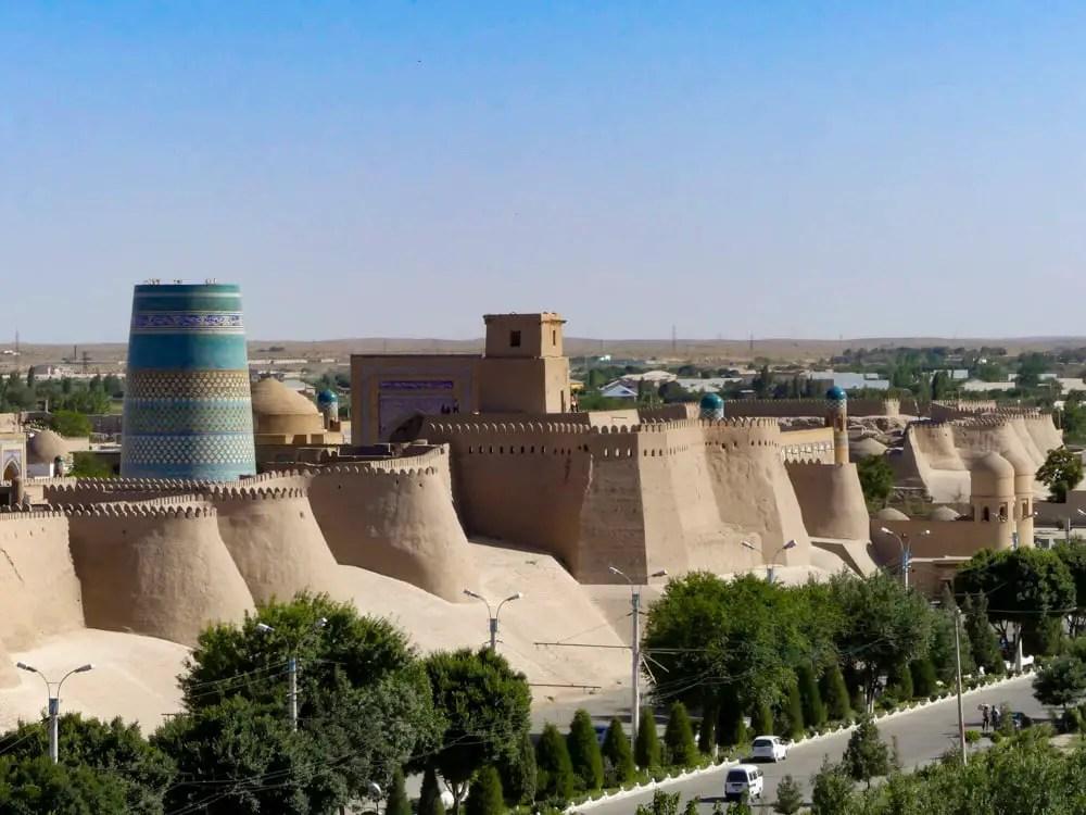 sightseeing in uzbekistan