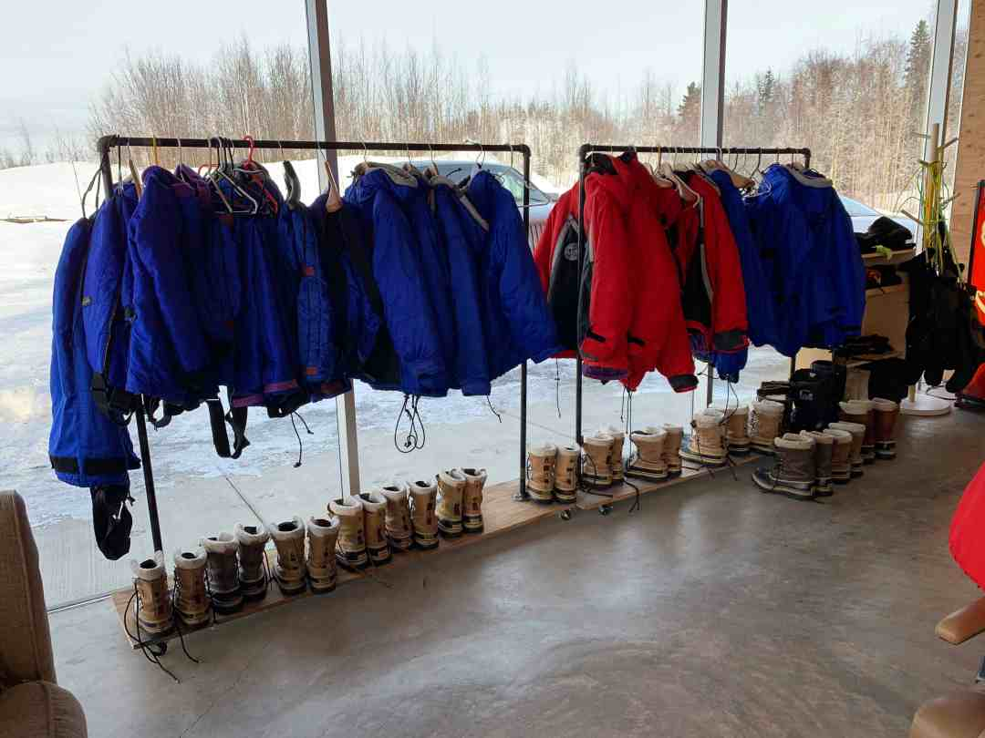 Winter clothing provided