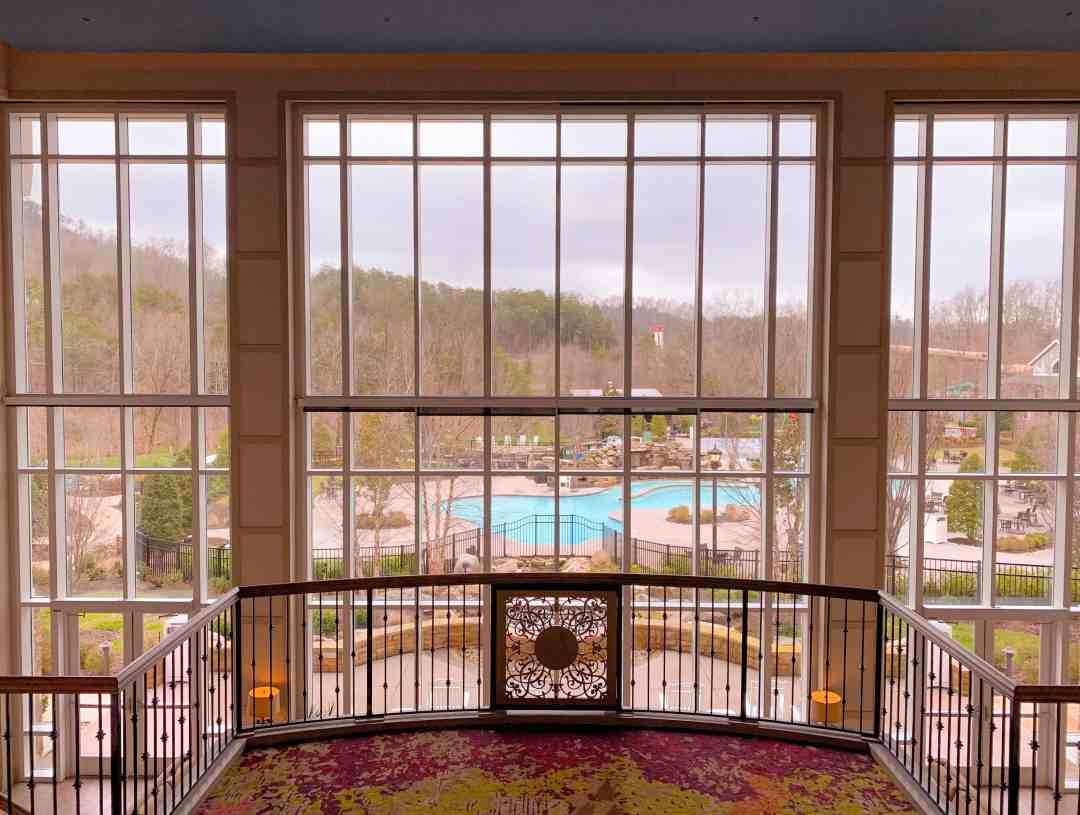 Dollywood DreamMore resort pool view