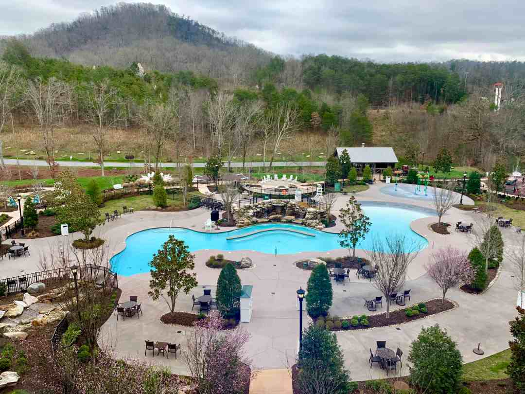 Dollywood's DreamMore Resort Pool
