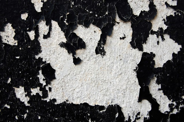 black-paint-and-white-texture