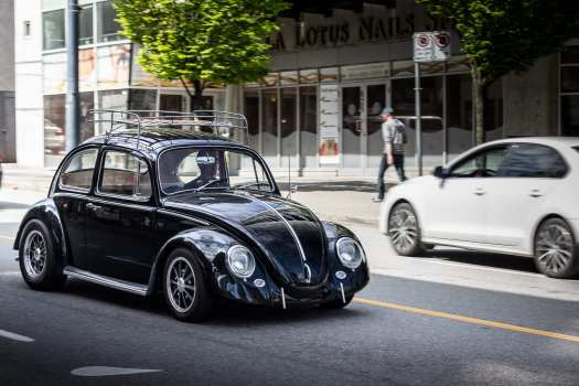 Volkswagen Super Beetle in Vancouver British Columbia