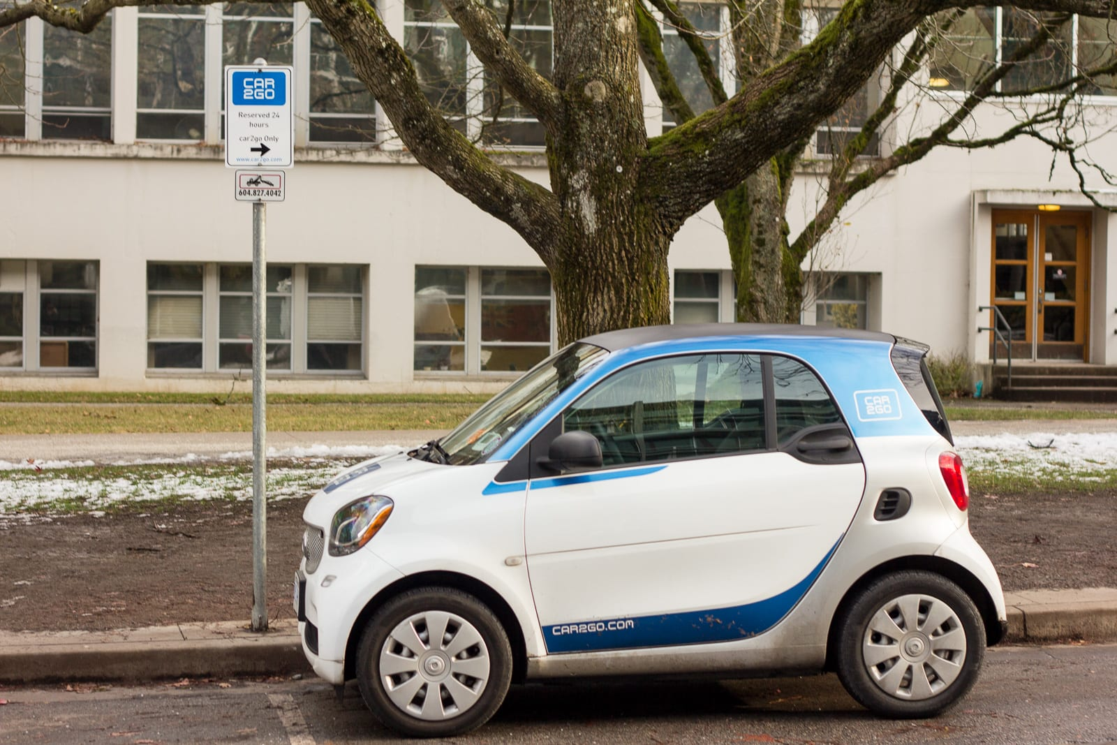 Car2go Car Share Smart Car