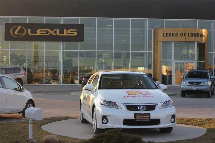 Lexus of London Lexus CT 200h Chinese New Year Celebration