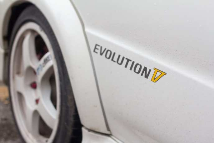 JDM Mitsubishi Lancer EVO V graphics decal
