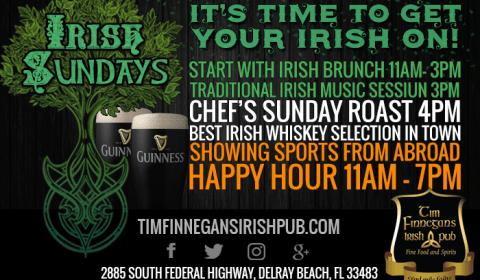 Irish Sunday at Tim Finnegans