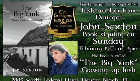 John Sexton - Book signing