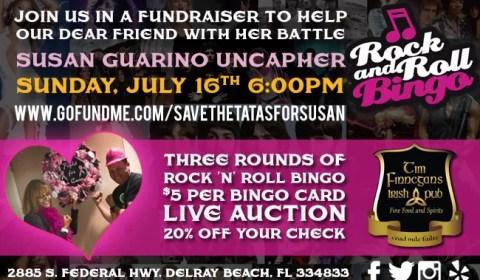 Rock n' Roll Bingo Fundraiser
