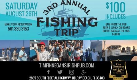 3rd Annual Tim Finnegans Fishing Trip