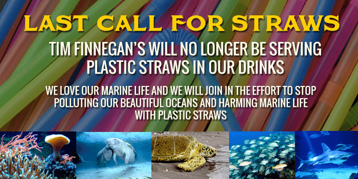 Restaurants and Bars Support Straw Free Oceans