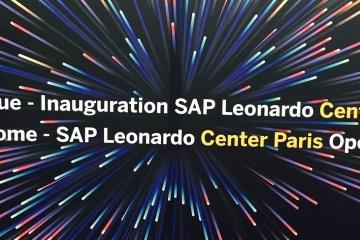 SAP Leonardo Center IOT IT ERP
