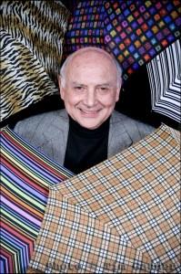 Press Portrait Arnold Fulton of Fulton Umbrellas