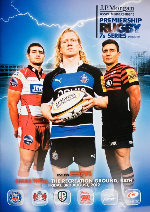 Rugby 7s Final programme cover