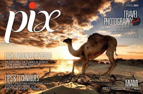 Cover of pix magazine