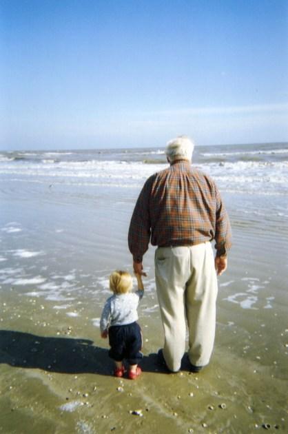 Tim Henderson & grandson Ethan - Dec 2007