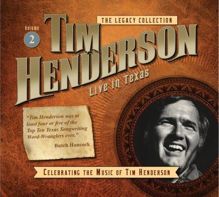 Tim Henderson - Live in Texas