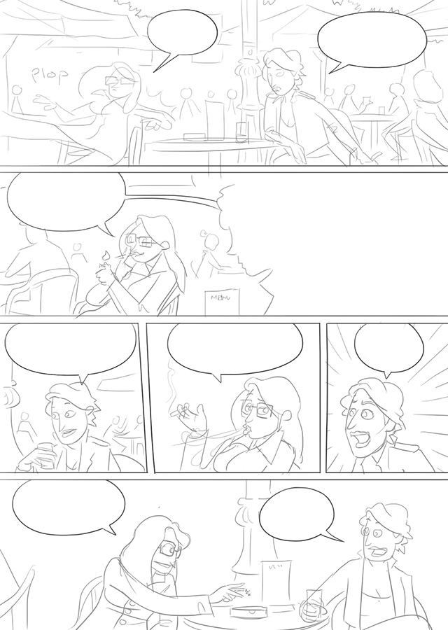 sketch for off-stage page 29