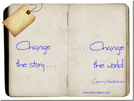 change the story - weatherwax
