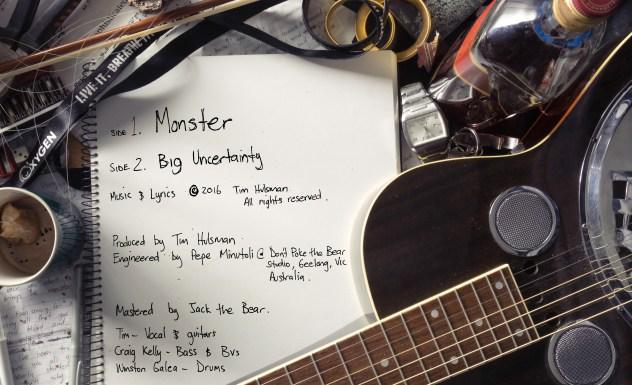 Tim Hulsman-Monster Single-Back Cover Art