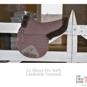 Le Mieux Lambskin Numnah Review