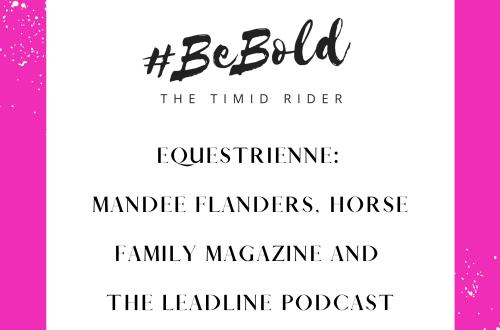 Equestrienne Mandee Flanders