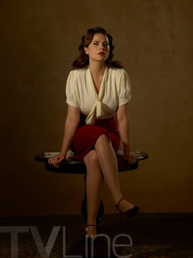"""MARVEL'S AGENT CARTER - ABC's """"Marvel's Agent Carter"""" stars Hayley Atwell as Agent Peggy Carter. (ABC/Bob D'Amico)"""