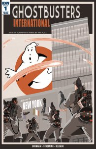 Ghostbusters Internation #1 Cover
