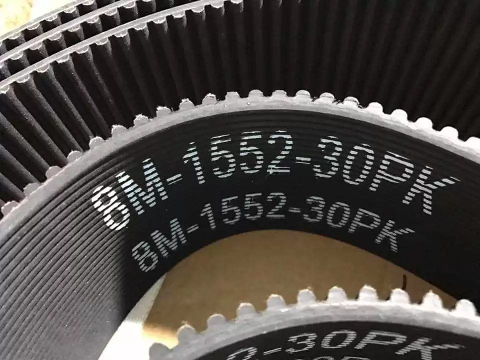 What Is Timing Belt Specification Chart