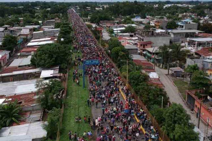 frontera de Guatemala y México
