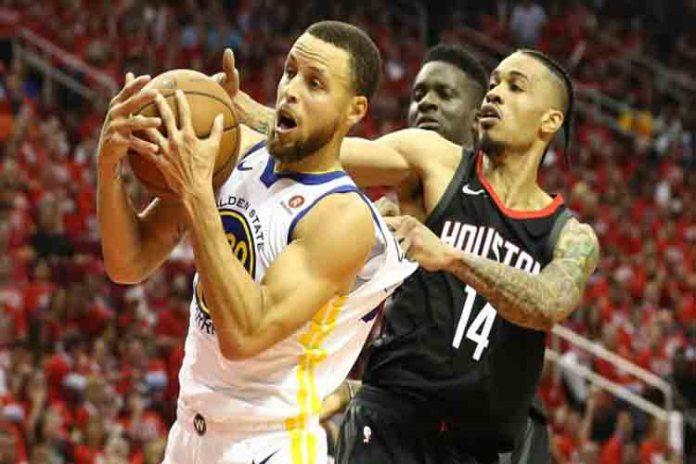 Victoria de los Warriors a los Rockets