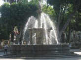 Fountain in Pueba's zocalo