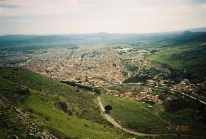 On Pergamum heights overlooking Bergama