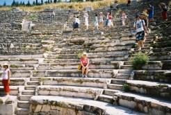 me in the small amphitheatre