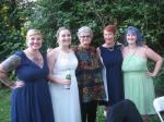at Anna's wedding July 2016