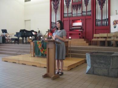 Pastor April July 24, 2016