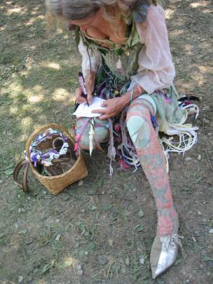 Fairy shoes are a feature of any good RenFest!