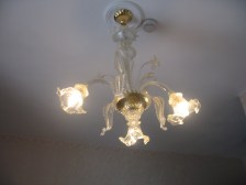 Charming chandelier