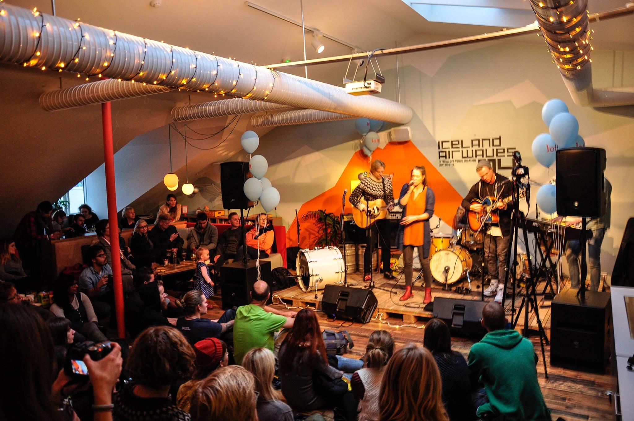 Iceland Loft Hostel Iceland Airwaves