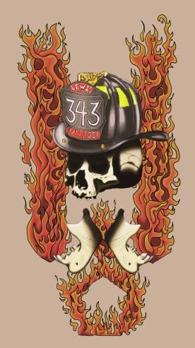 Fireman's Tattoo. For a friend.
