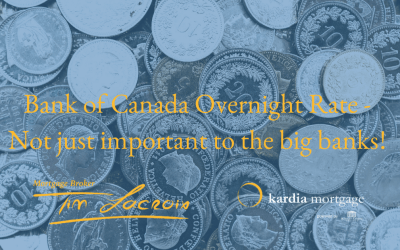 Bank of Canada Overnight Rate – Not just important to the big banks!