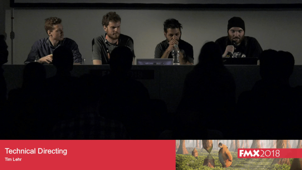 TD Projects Talk @ FMX 2018