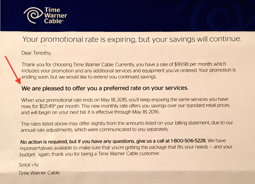 Dealing with Time Warner Cable | Tim Leland
