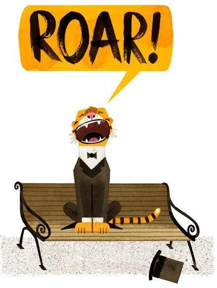 tiger-roars