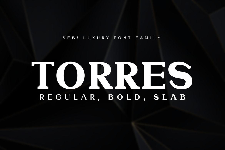 Modern Font Family