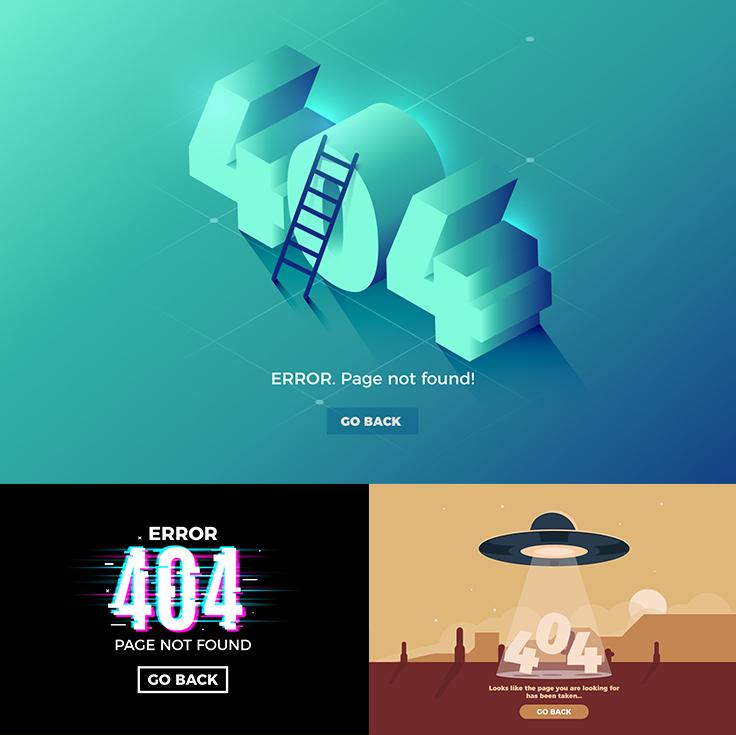 404 web design