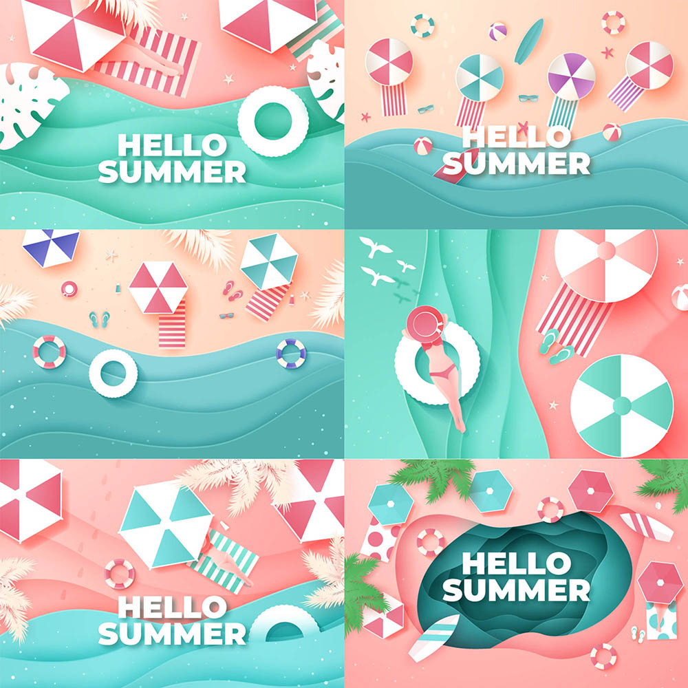 summer illustrations